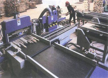 Hệ thống sơ chế gỗ